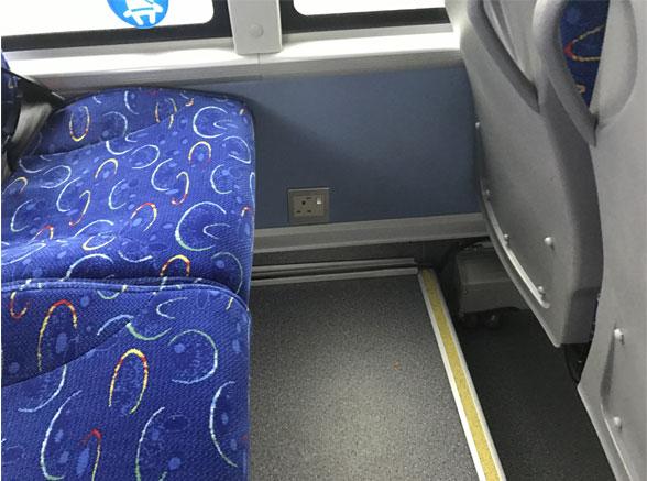 Midi Coach Plug Sockets