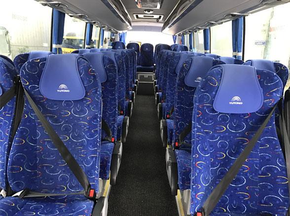 Midi Coach Seating Area