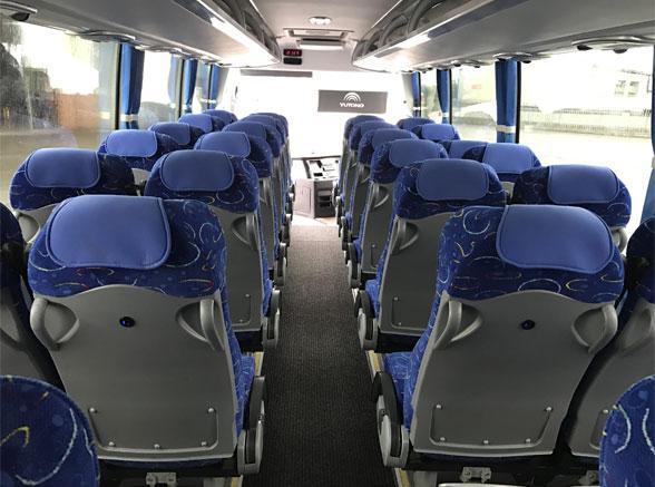 Midi Coach Seat Back