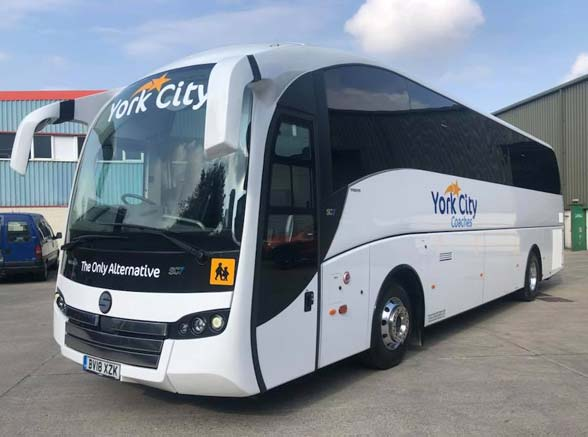 Luxury Coach Hire From York City Coaches