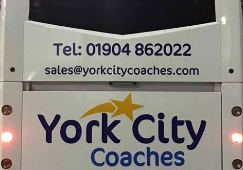 York City Coach Hire Details